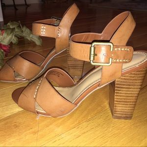 Crown Vintage saddle brown sandals